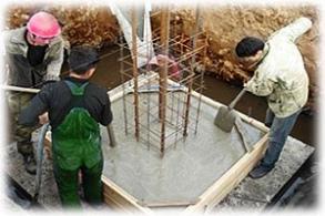 Работа заливка бетона цена бетона в брянске купить