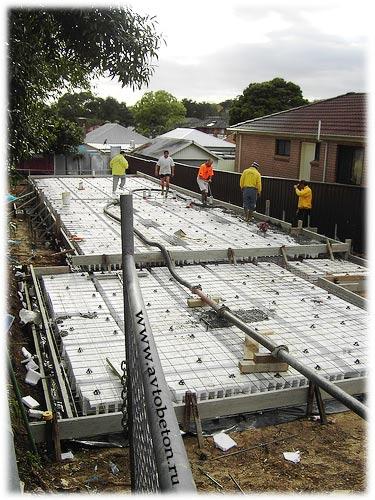 трасса для бетона