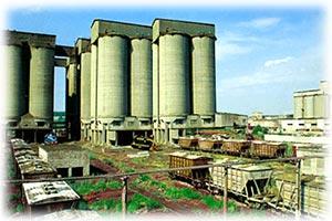 Цементный завод в Калужской области