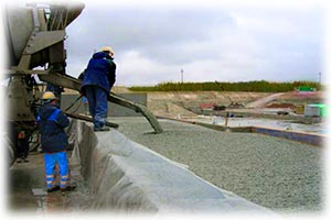 Заливка бетона ЗАО Евробетон