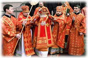 Освящение храма Святого Георгия Победоносца