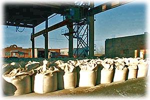 Выросло производство цемента