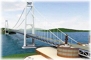 Строительство мостового перехода