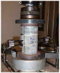 Испытание прочности бетона на сжатие и на соответствие требуемой марке